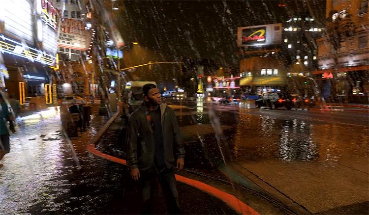 Insane Rain GTA5 mod