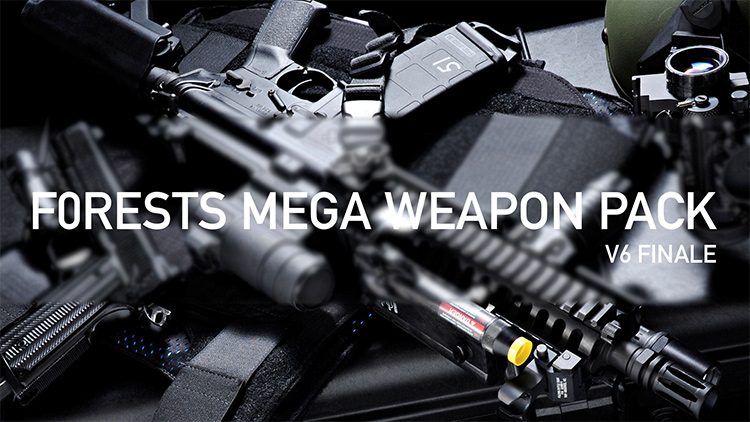 F0rest Mega Weapon Pack GTA5