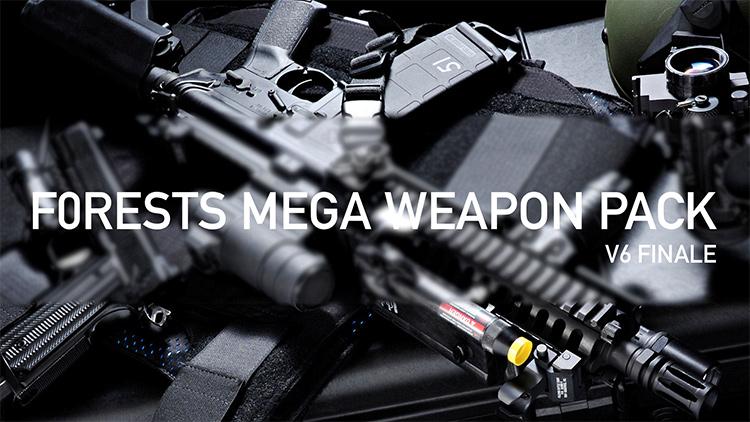 F0rest Mega Weapon Pack GTA5