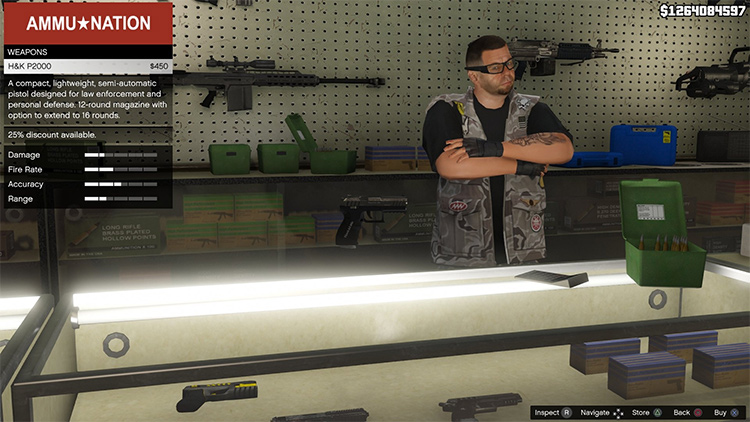 Real Weapon Names for GTA5