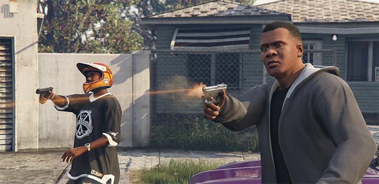 Gangsta Style Franklin GTA5