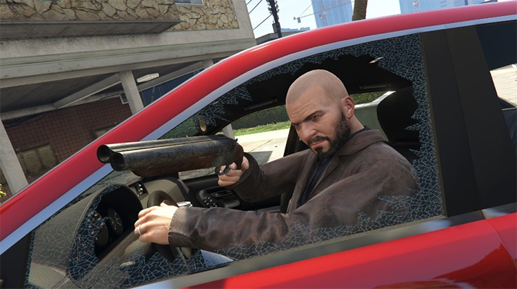 Drive-By Mod in GTA5
