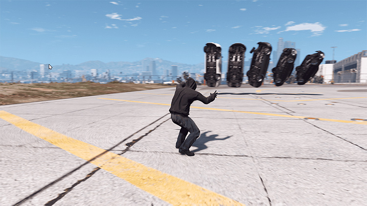 Psychokinetic Mod in GTA5