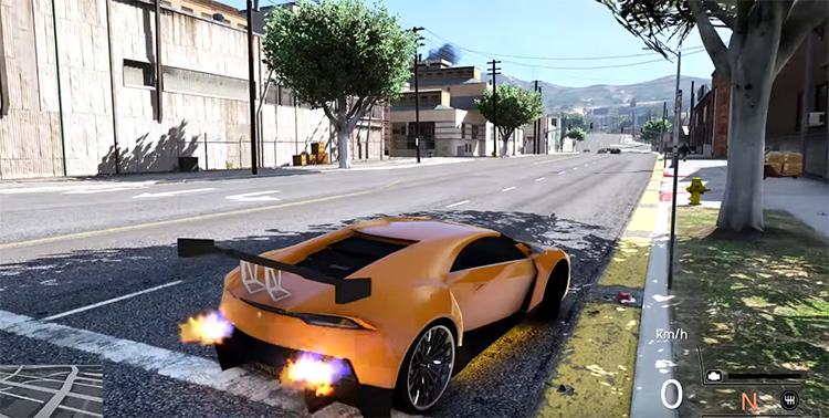 Realistic Driving in GTA 5, best car mod