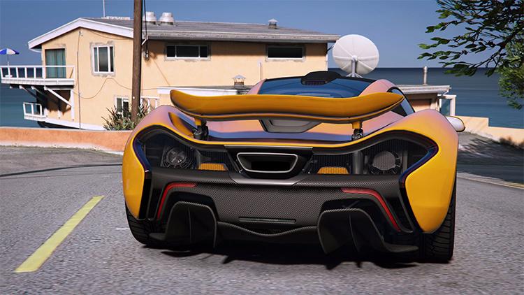 2014 McLaren P1 GTA5 mod