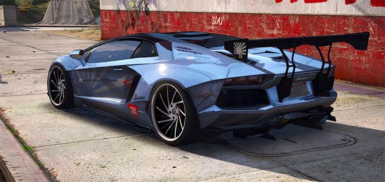 2013 Lamborghini Aventador GTA5 mod