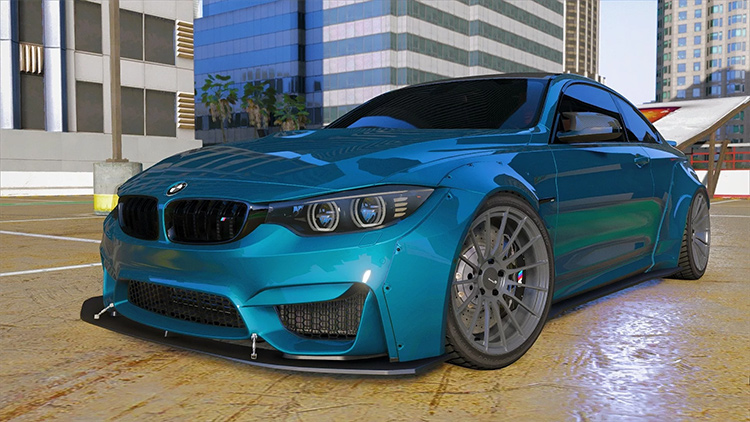 2015 BMW F82 M4 GTA5 mod
