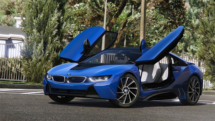 2015 BMW i8 GTA5 mod