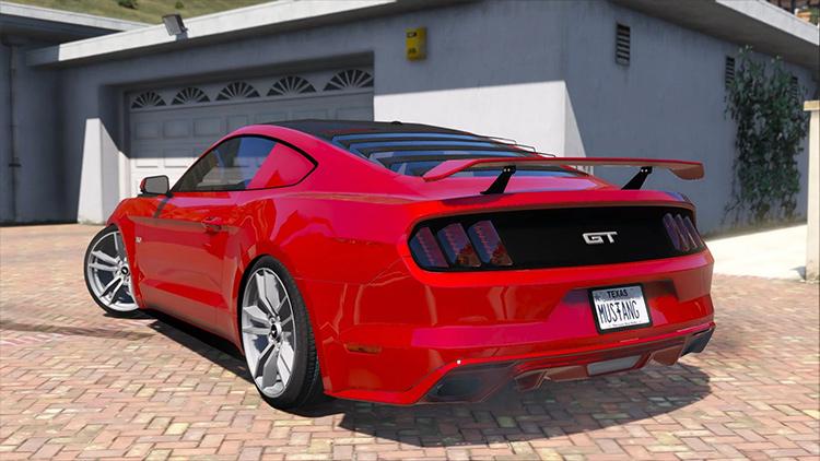 2015 Ford Mustang GT GTA5 mod