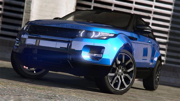 Range Rover Evoque GTA5 mod