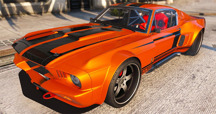 1967 Shelby Mustang gta5 mod