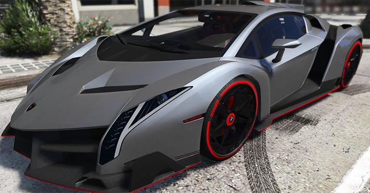 Lamborghini Veneno gta5 mod