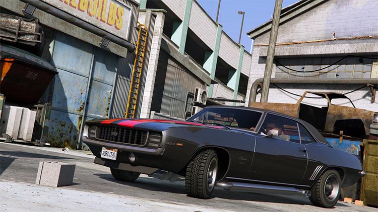 67 Chevrolet Camaro gta5 mod