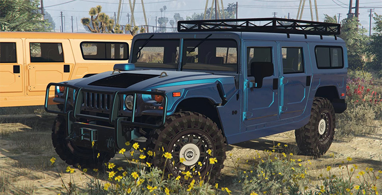 Hummer H1 gta5 mod