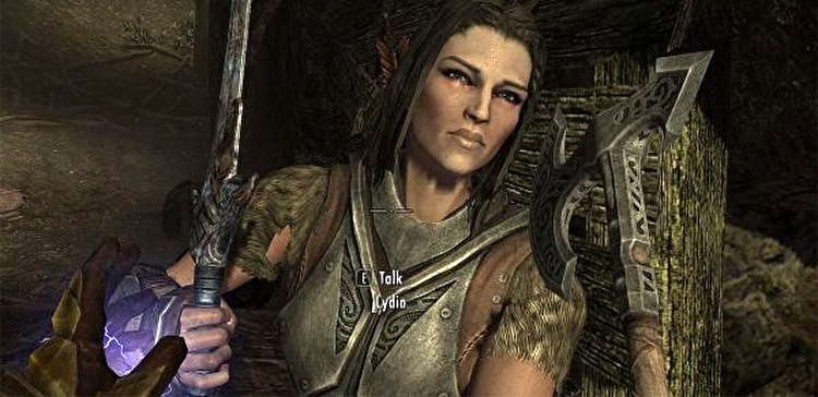 Lydia in Skyrim