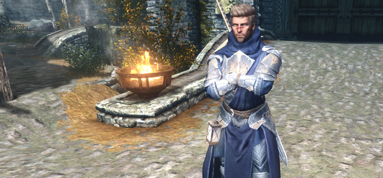Custom Skyrim mage gear