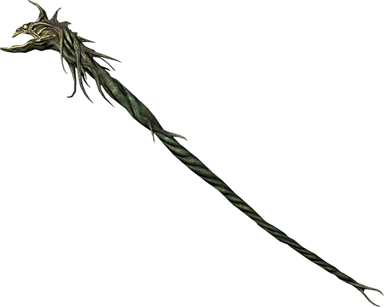 Miraak's Staff in Skyrim