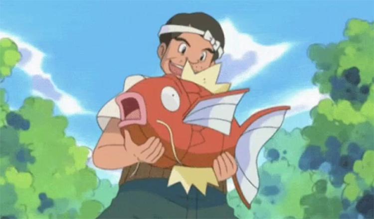 Magikarp fish seller, the best fish pokemon
