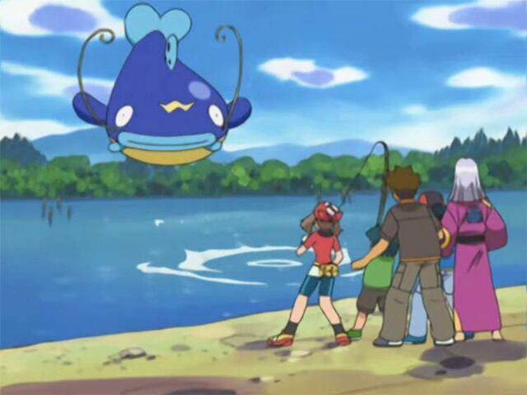 Whiscash fish pokemon from the anime