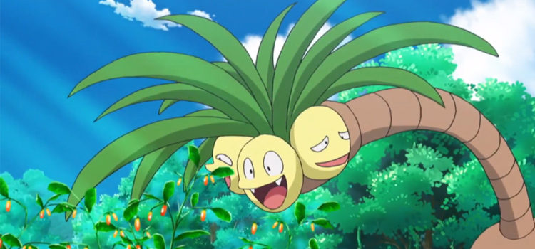 25 Best Plant-Based Pokémon From Flowers To Trees
