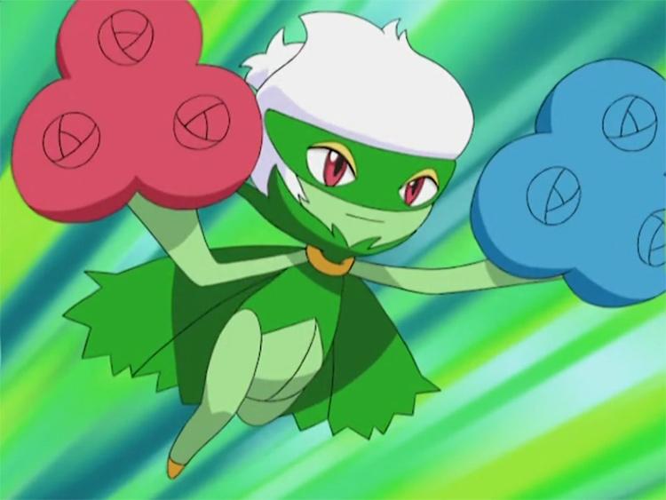 Roserade in the anime