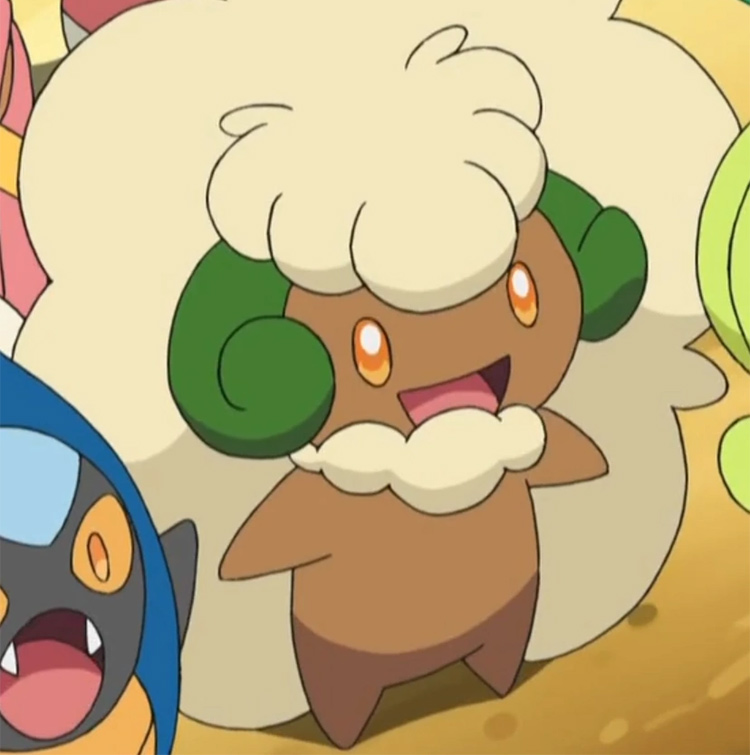 Whimsicott screenshot from the anime