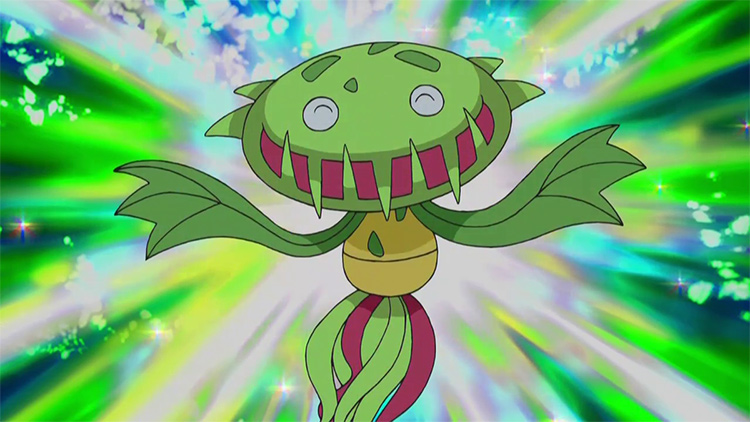 Carnivine from the anime