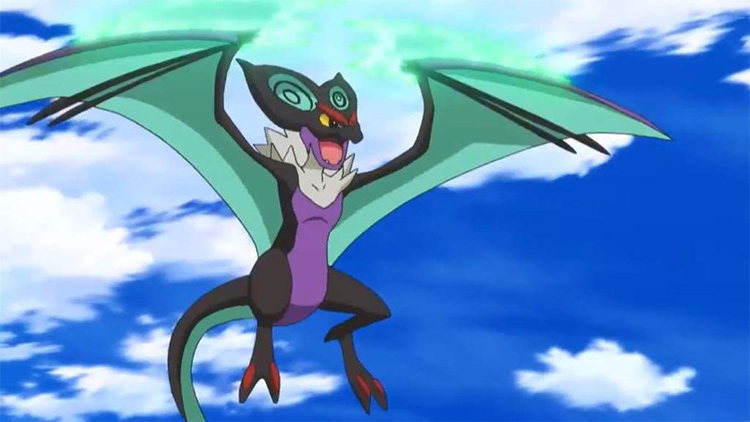 Noivern in the Pokemon anime
