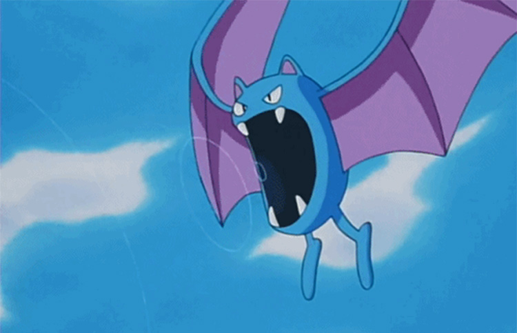 Golbat from the anime