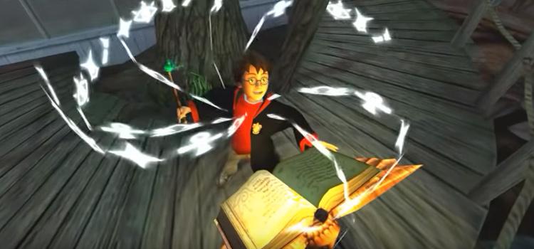 Harry Potter ps2 gameplay screenshot