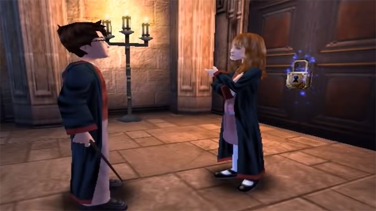 Harry Potter and the Philosopher's Stone video game screenshot