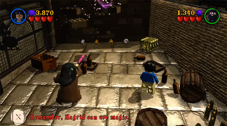 Lego Harry Potter: Years 1-4 video game screenshot
