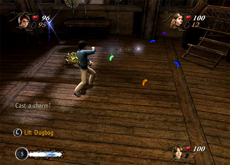 Harry Potter and the Goblet of Fire video game screenshot