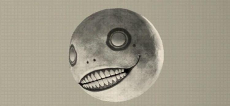 Emil Heads from Nier Automata