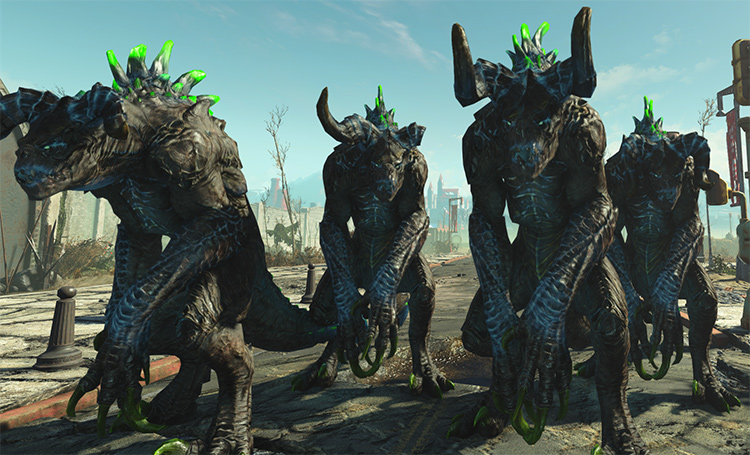 More Deathclaw Variety for Fallout 4