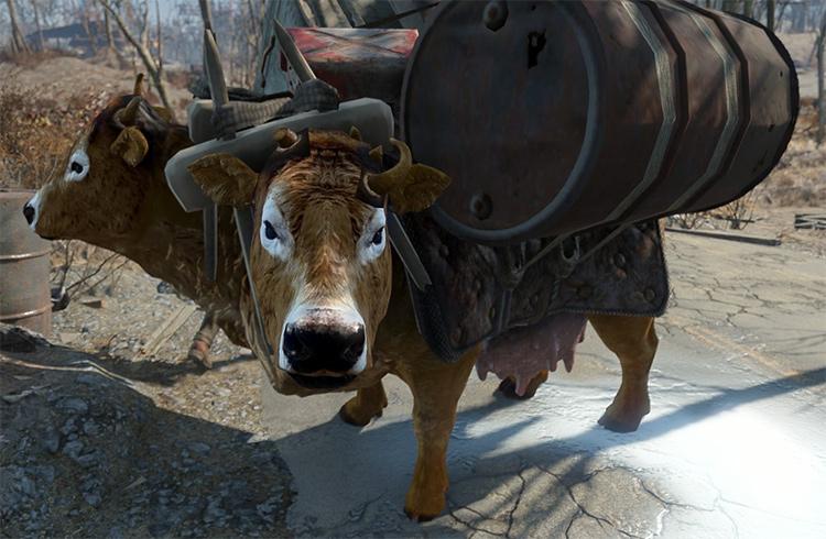 Protected Unique Brahmin Fallout 4