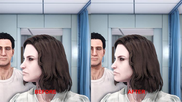 Hi-poly Faces mod