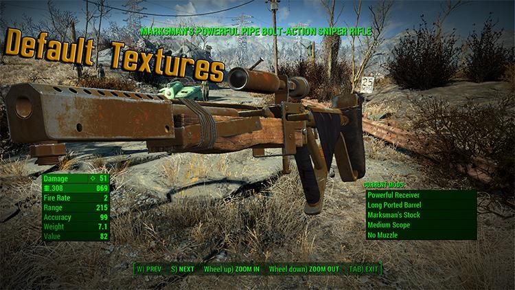 Better Handmade Weapon Textures mod