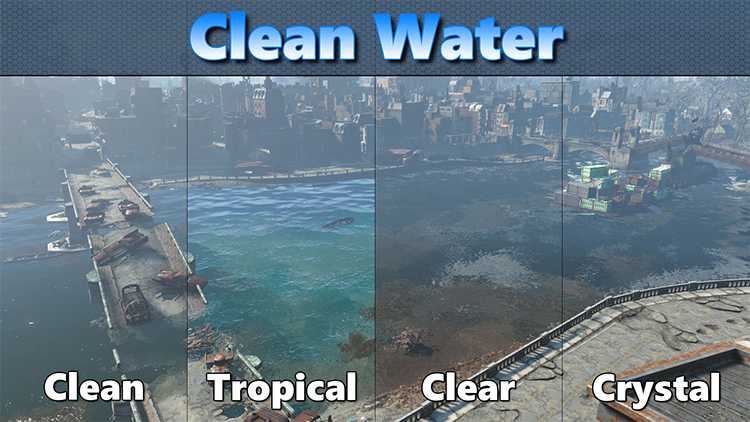 Clean Water of the Commonwealth mod