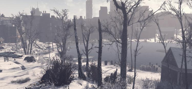 Winter landscape in FA4