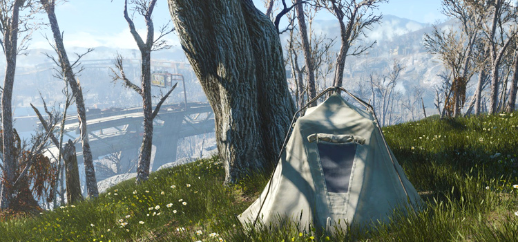 Fallout4 survival tent mod