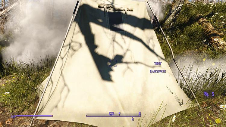 Survival Tent mod