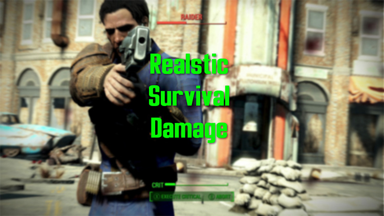 Realistic Survival Damage mod