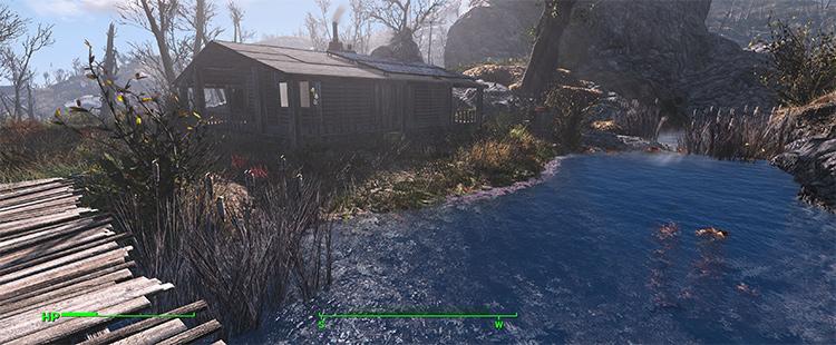 Survivalist Cabin mod