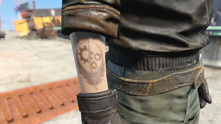 Fallout 4 Lore-friendly Tattoos FA4