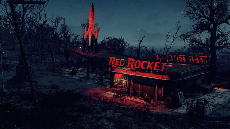 Rockin' Red Rocket FA4