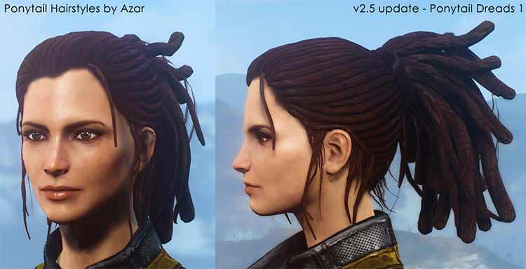 Ponytail Hairstyles FO4