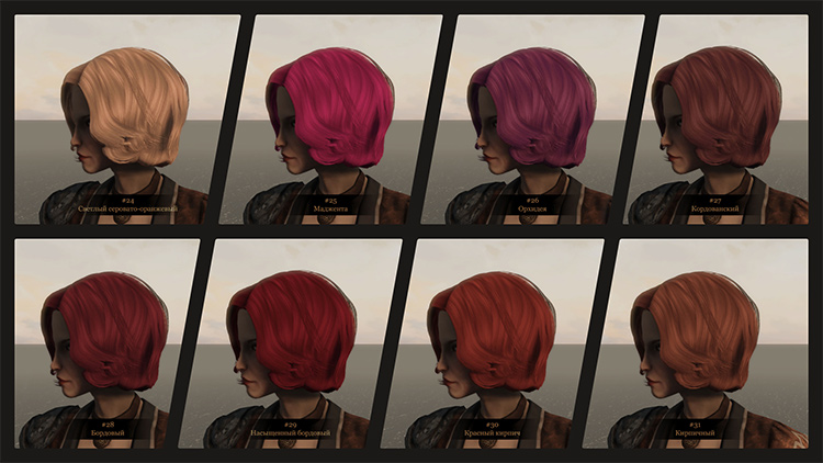 Additional Hair Colors Fo4