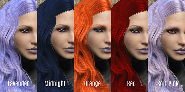 Zella's Hair Dye Collection FO4
