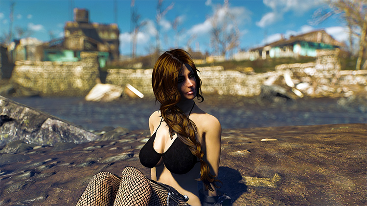 512 Standalone Hair Colors FO4